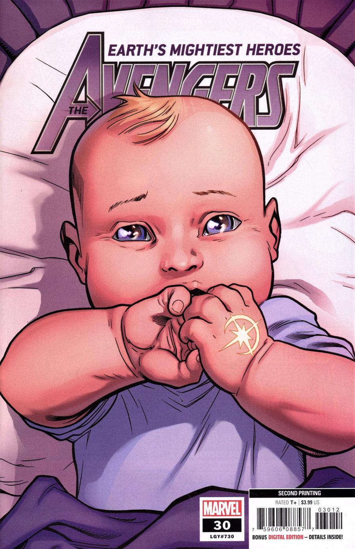 Avengers Vol 7 #30 Cover C 2nd Ptg Variant Ed Mcguinness Cover