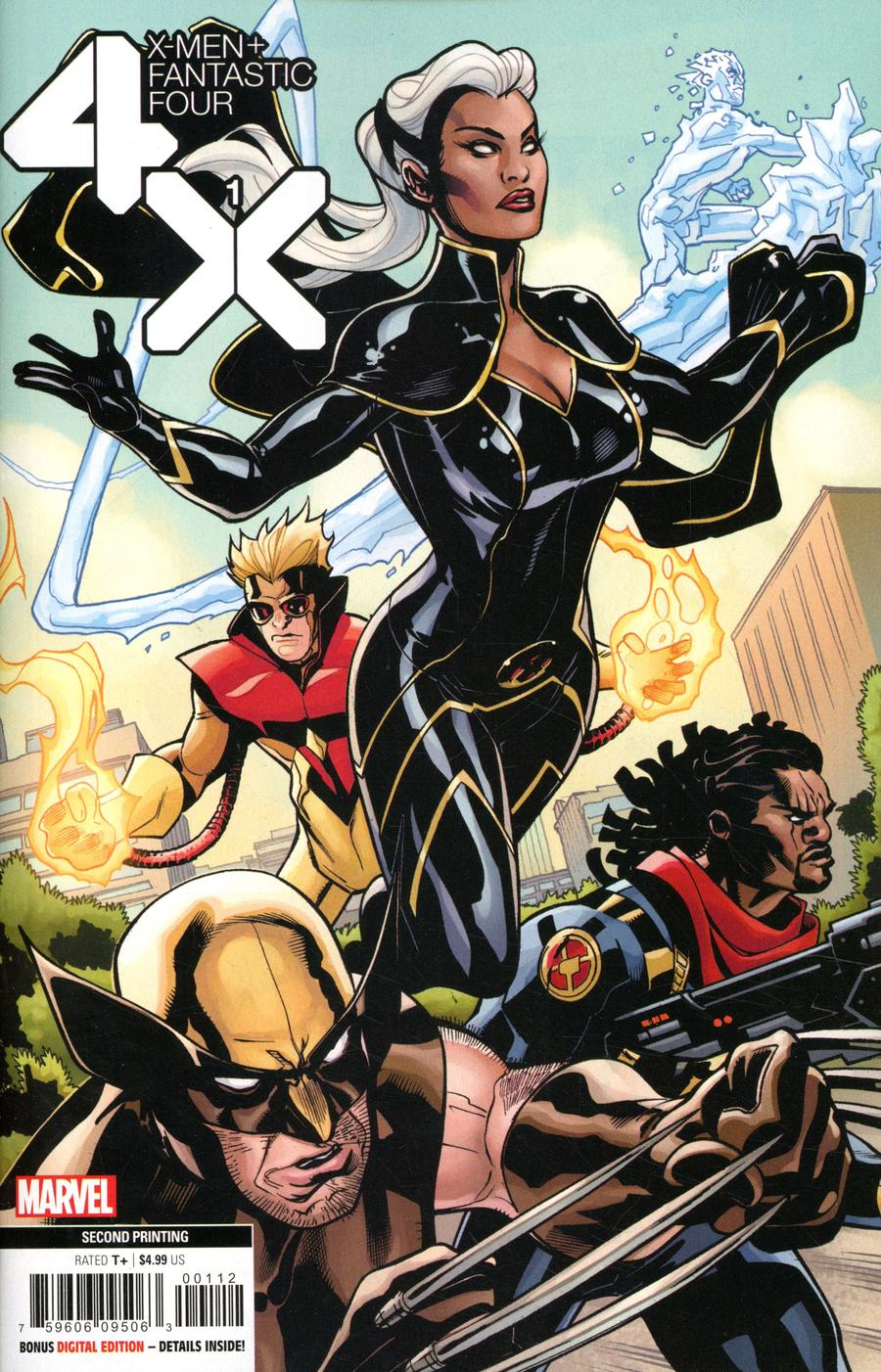 X-Men Fantastic Four Vol 2 #1 Cover H 2nd Ptg Variant Terry Dodson Cover