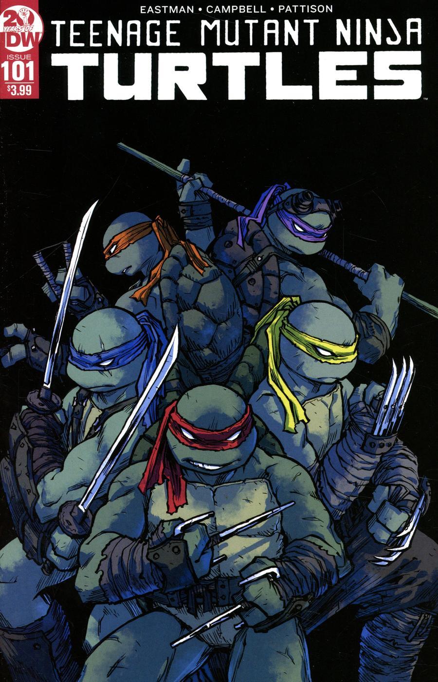 Teenage Mutant Ninja Turtles Vol 5 #101 Cover D 2nd Ptg Variant Sophie Campbell Cover