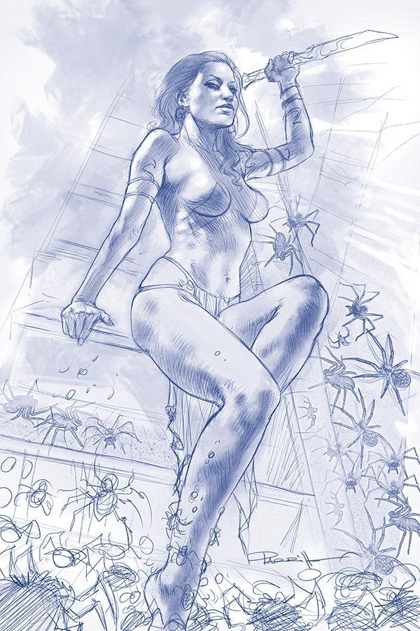 Dejah Thoris Vol 3 #4 Cover N Incentive Lucio Parrillo Tint Virgin Cover