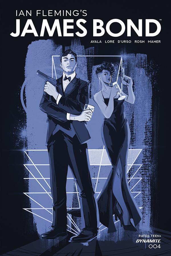 James Bond Vol 3 #4 Cover C Incentive Afua Richardson Tint Dressed Cover