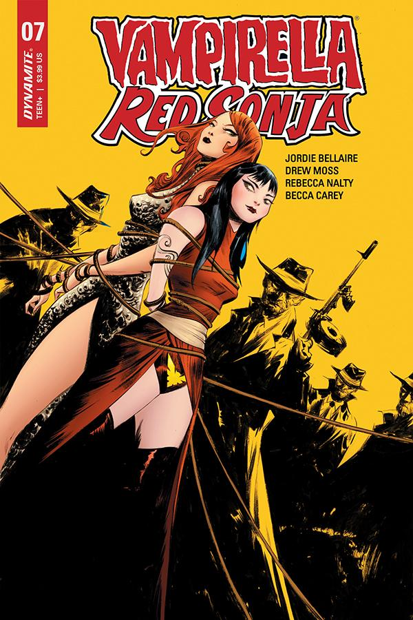 Vampirella Red Sonja #7 Cover N Incentive Jae Lee Yellow Cover