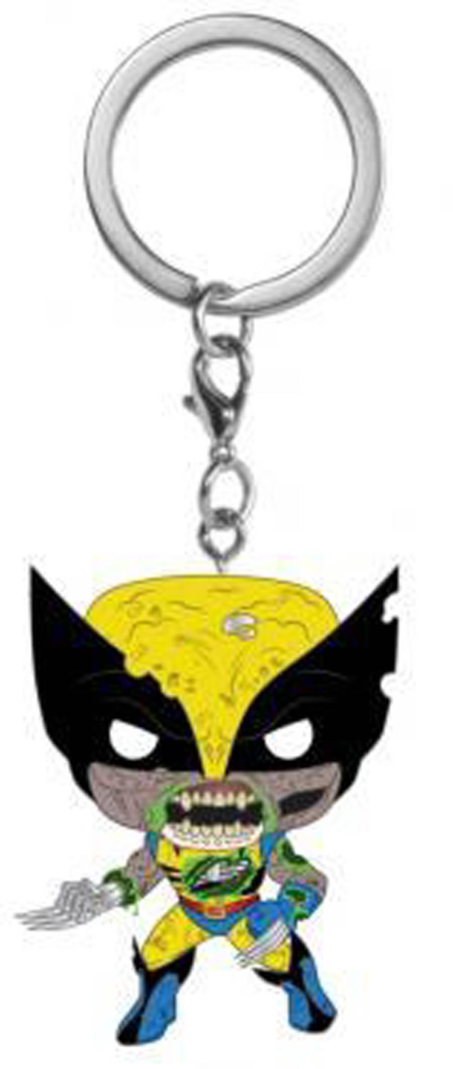 POP Keychain Marvel Zombies Wolverine Vinyl Pocket Keychain
