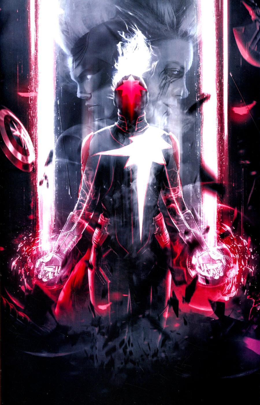 Captain Marvel Vol 9 #16 Cover E Incentive Boss Logic Virgin Cover