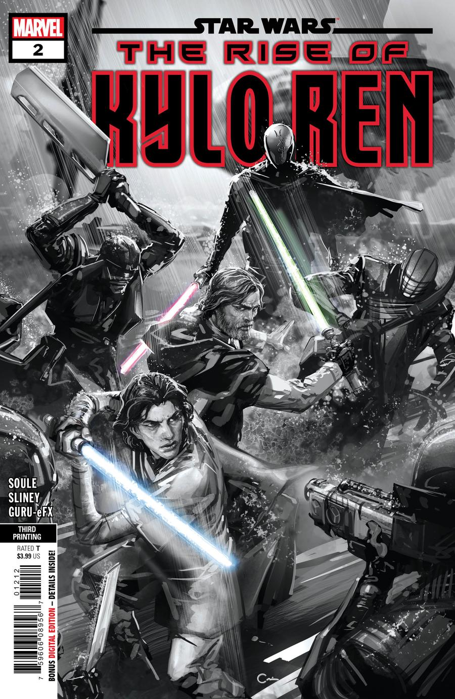 Star Wars Rise Of Kylo Ren #2 Cover D 3rd Ptg Clayton Crain Variant Cover