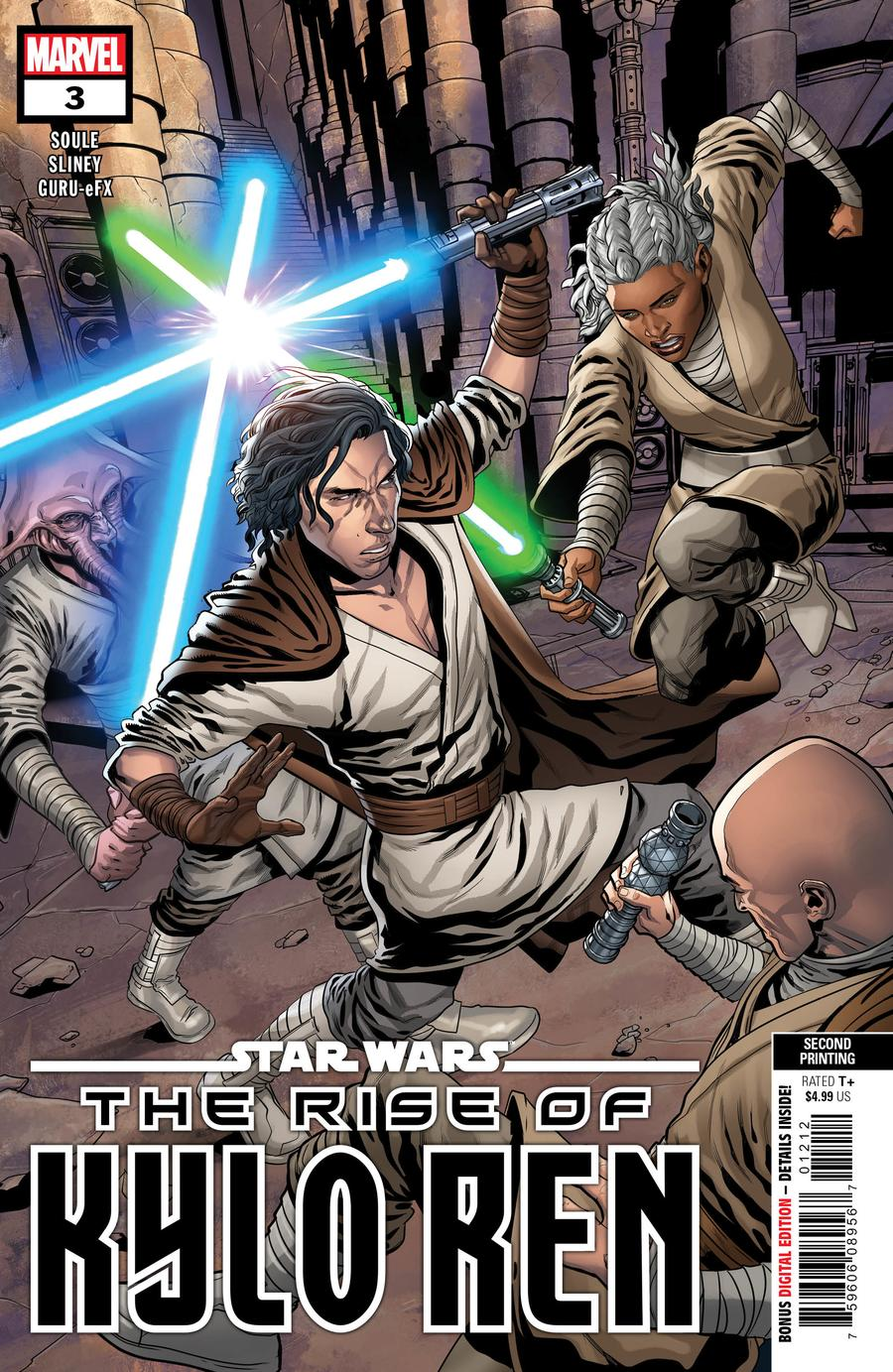 Star Wars Rise Of Kylo Ren #3 Cover C 2nd Ptg Will Sliney Variant Cover