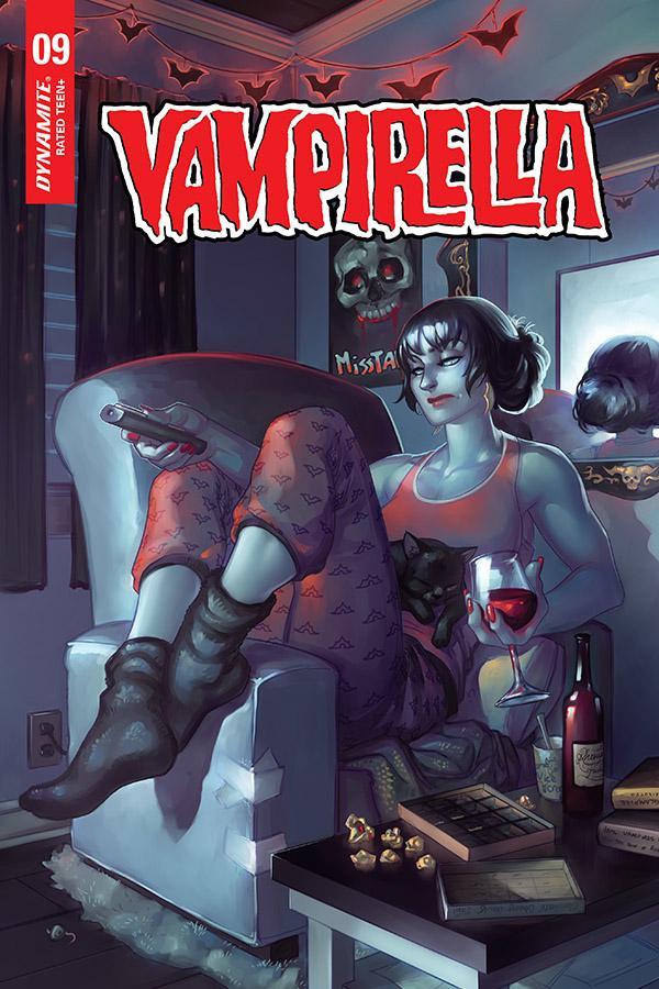Vampirella Vol 8 #9 Cover G Variant Meghan Hetrick Cover