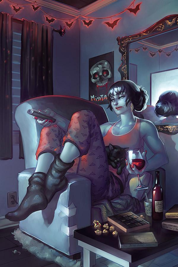 Vampirella Vol 8 #9 Cover J Incentive Meghan Hetrick Virgin Cover