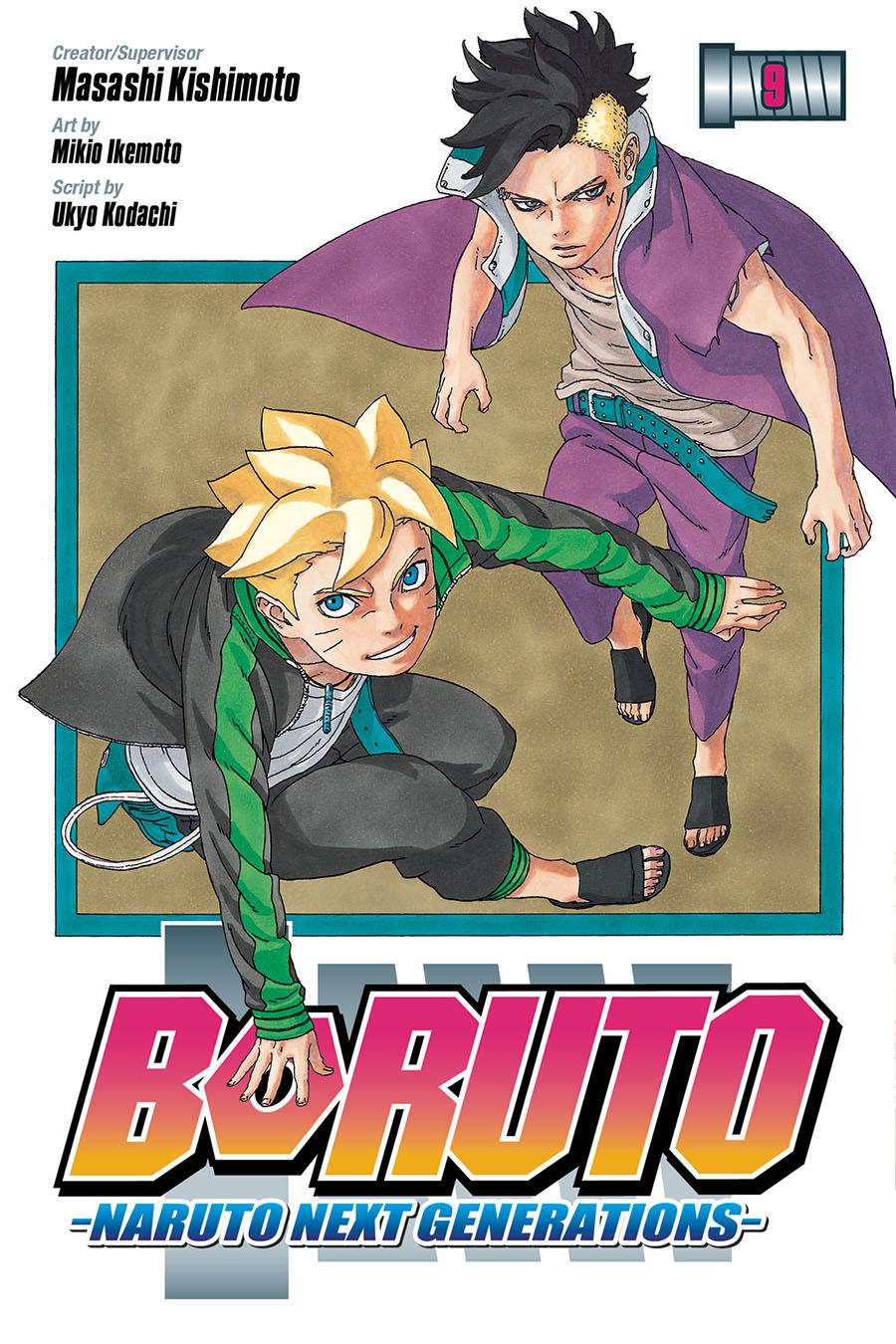 Boruto Naruto Next Generations Vol 9 GN