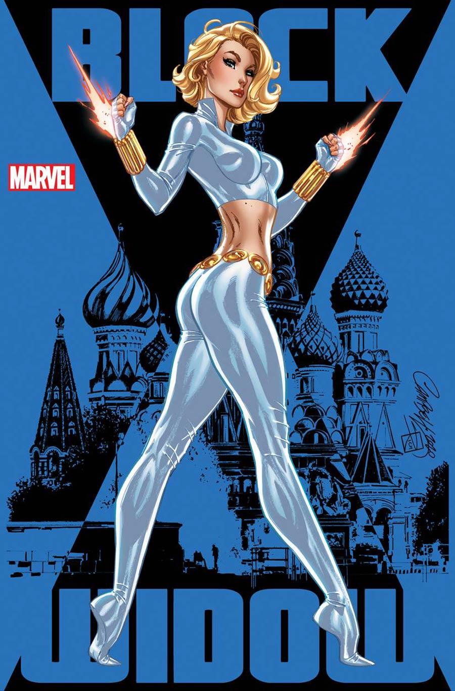 Black Widow Vol 8 #2 Cover E Variant J Scott Campbell Cover