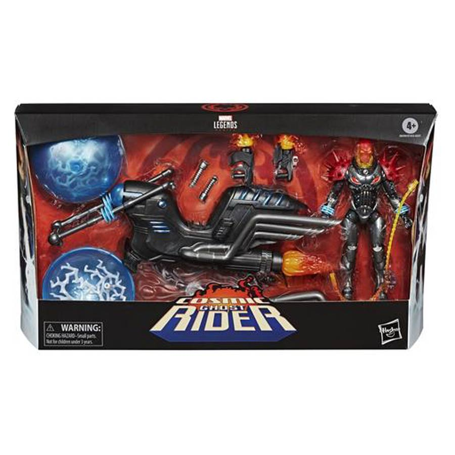 Marvel Legends 6-Inch Action Figure Deluxe Vehicle Set - Cosmic Ghost Rider