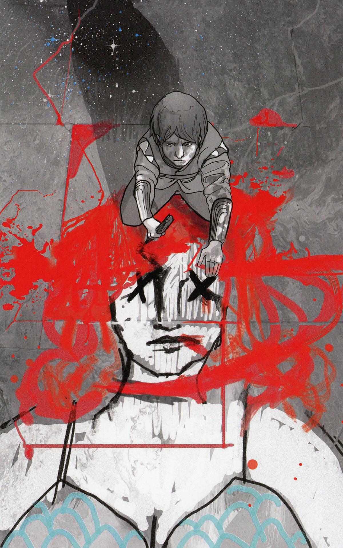 Killing Red Sonja #1 Cover I Incentive Christian Ward Spot Color Virgin Cover