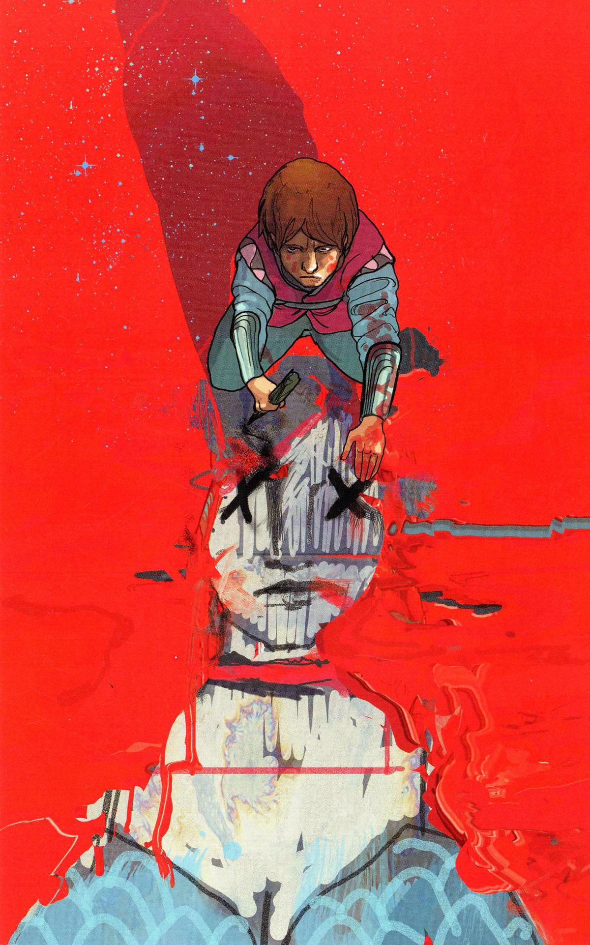 Killing Red Sonja #1 Cover J Incentive Christian Ward Crimson Virgin Cover