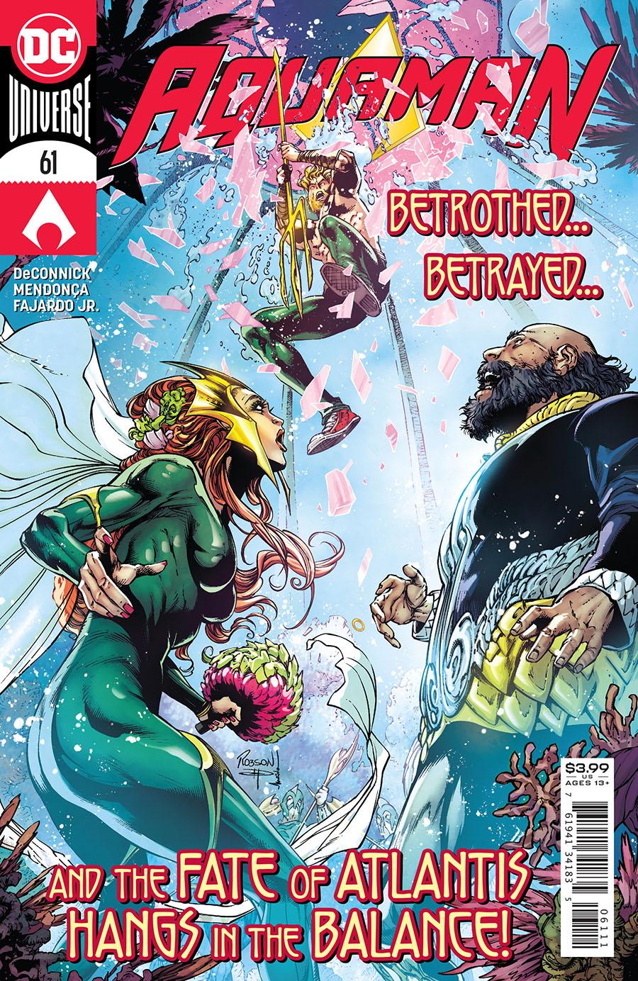 Aquaman Vol 6 #61 Cover A Regular Robson Rocha Cover