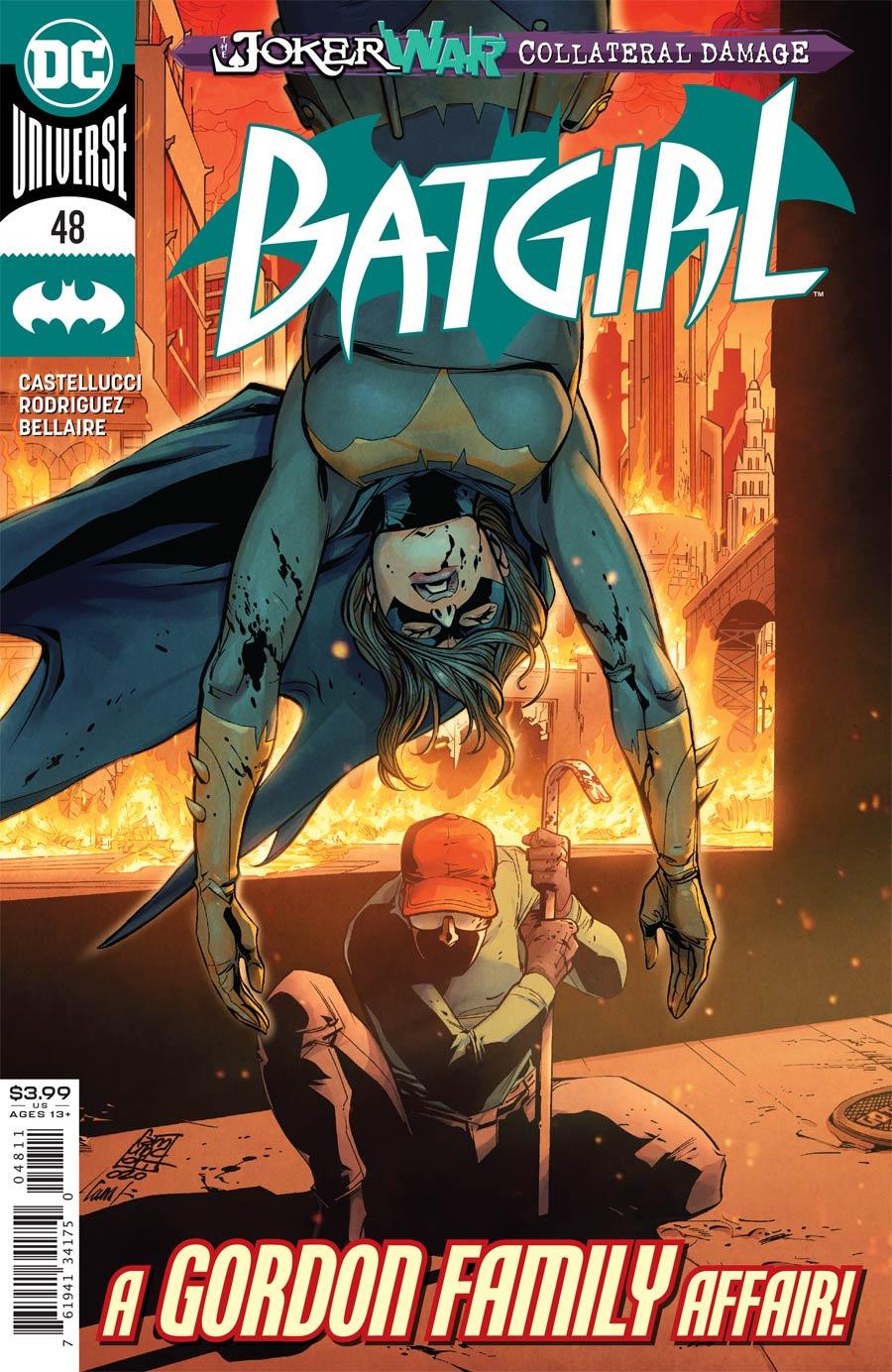 Batgirl Vol 5 #48 Cover A Regular Giuseppe Camuncoli Cover (Joker War Tie-In)