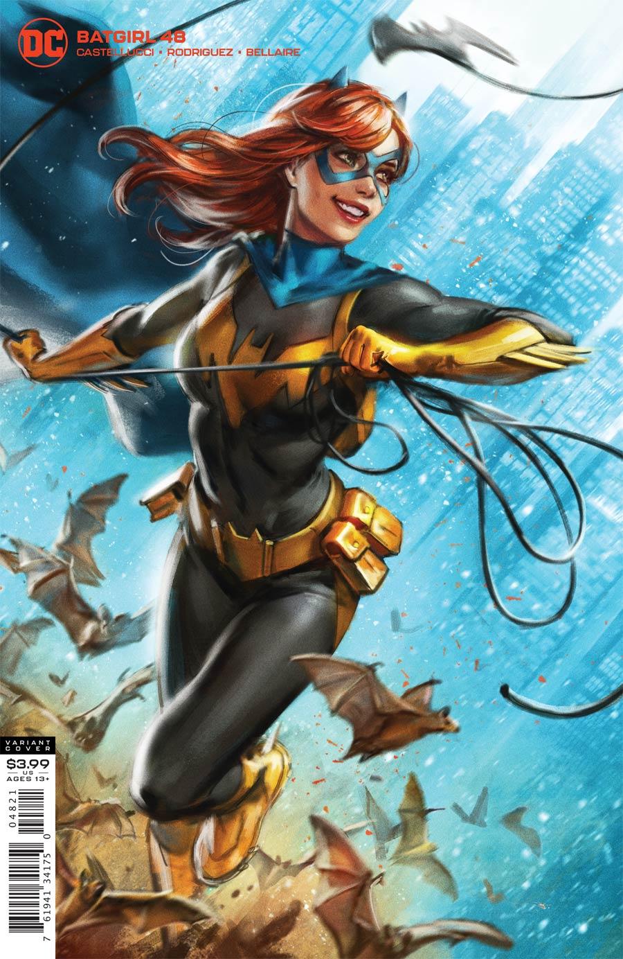 Batgirl Vol 5 #48 Cover B Variant Ian MacDonald Cover (Joker War Tie-In)