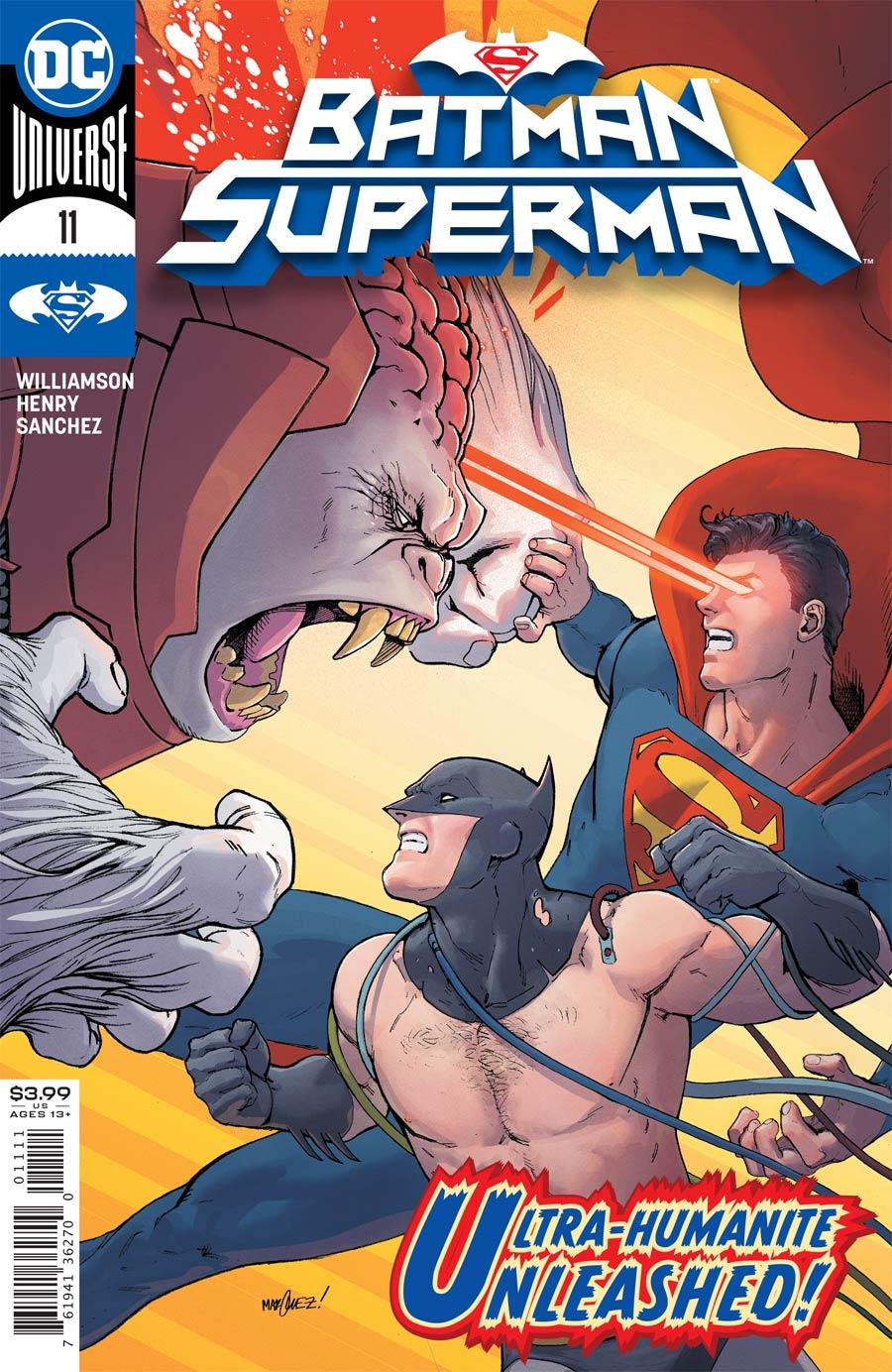 Batman Superman Vol 2 #11 Cover A Regular David Marquez Cover