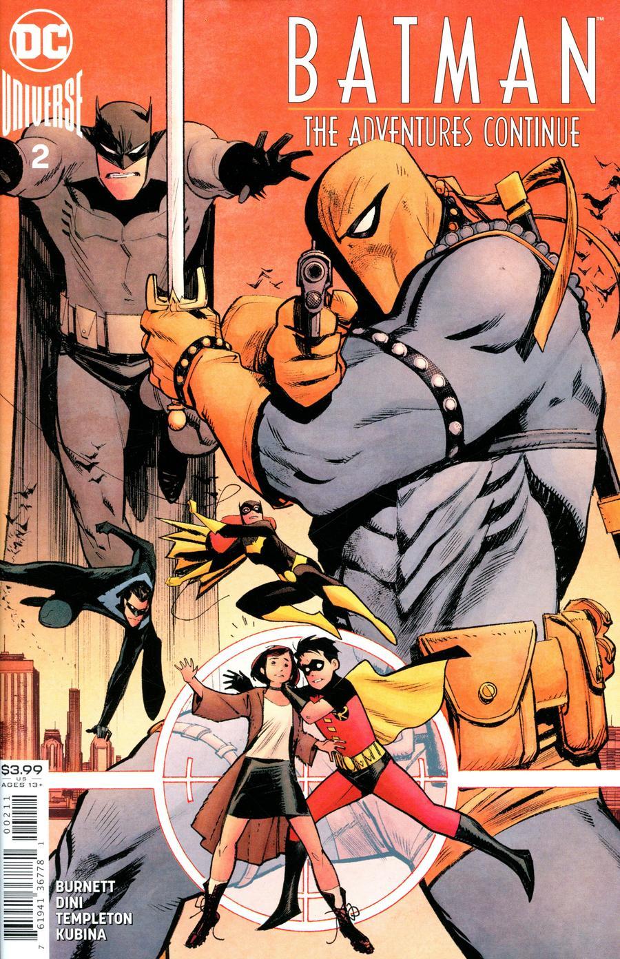 Batman The Adventures Continue #2 Cover A 1st Ptg Regular Sean Murphy Cover