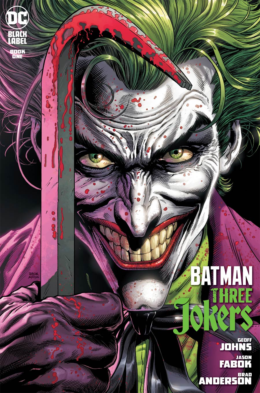 Batman Three Jokers #1 Cover A Regular Jason Fabok Cover