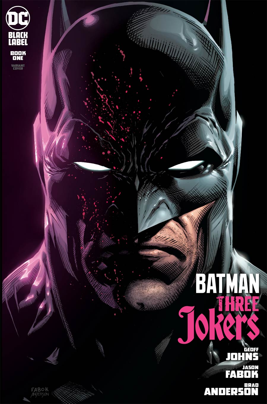 Batman Three Jokers #1 Cover B Variant Jason Fabok Cover - RESOLICITED