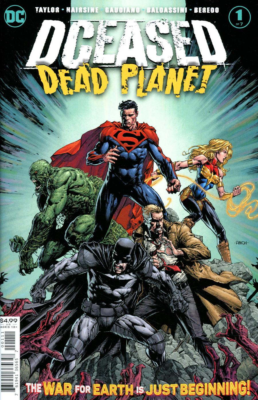 DCeased Dead Planet #1 Cover A 1st Ptg Regular David Finch Cover