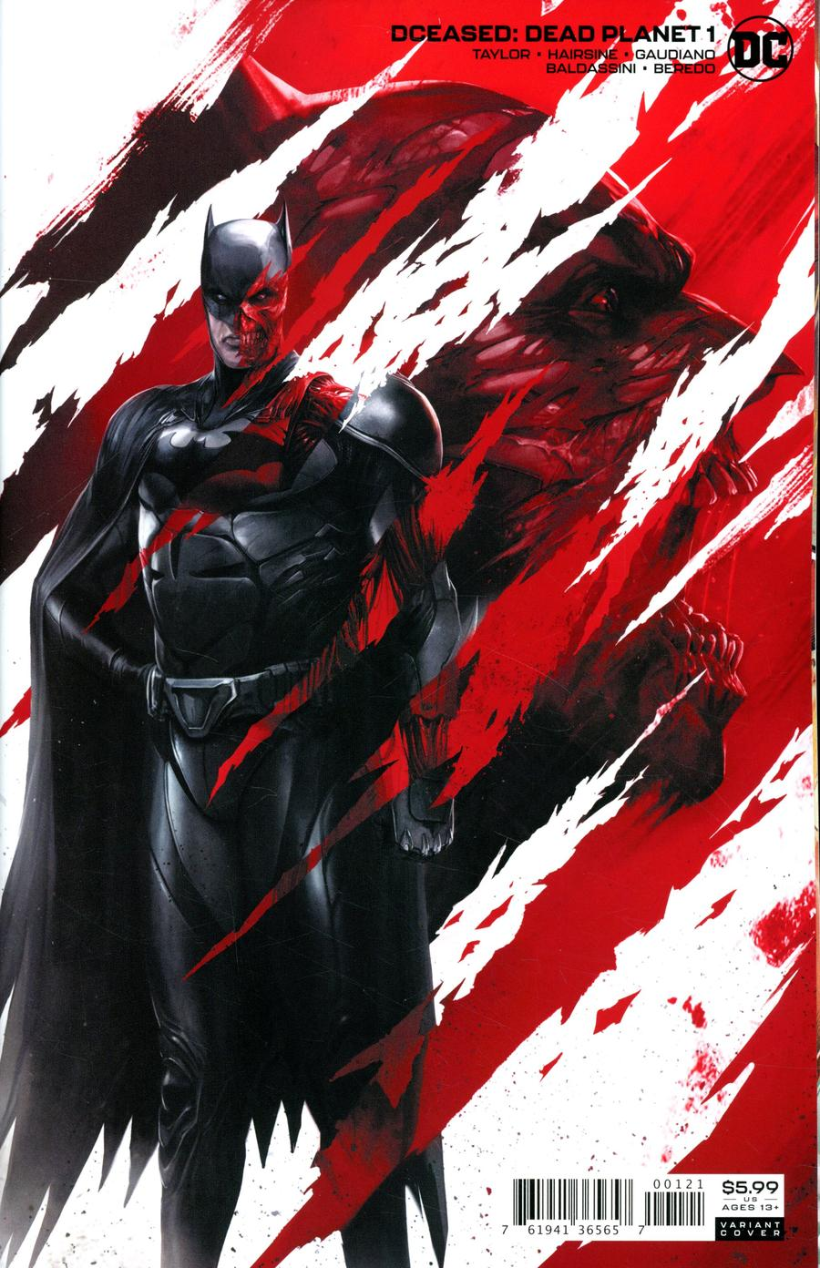 DCeased Dead Planet #1 Cover B Variant Francesco Mattina Card Stock Cover
