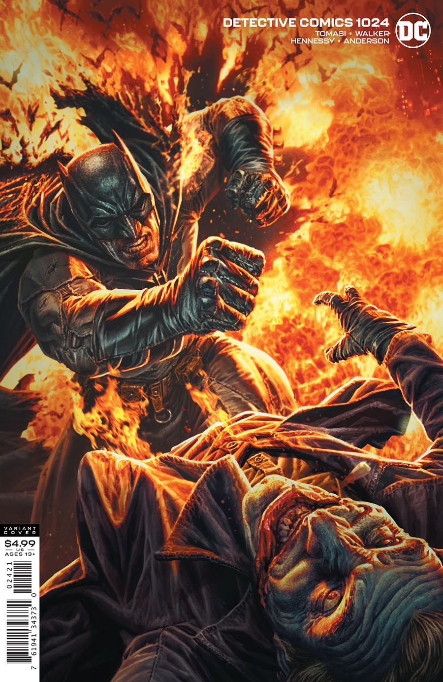 Detective Comics Vol 2 #1024 Cover B Variant Lee Bermejo Card Stock Cover (Joker War Tie-In)