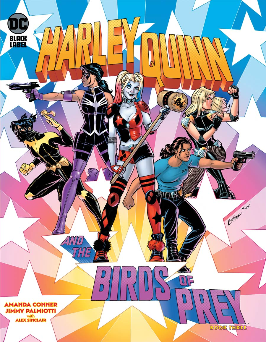 Harley Quinn And The Birds Of Prey #3 Cover A Regular Amanda Conner Cover