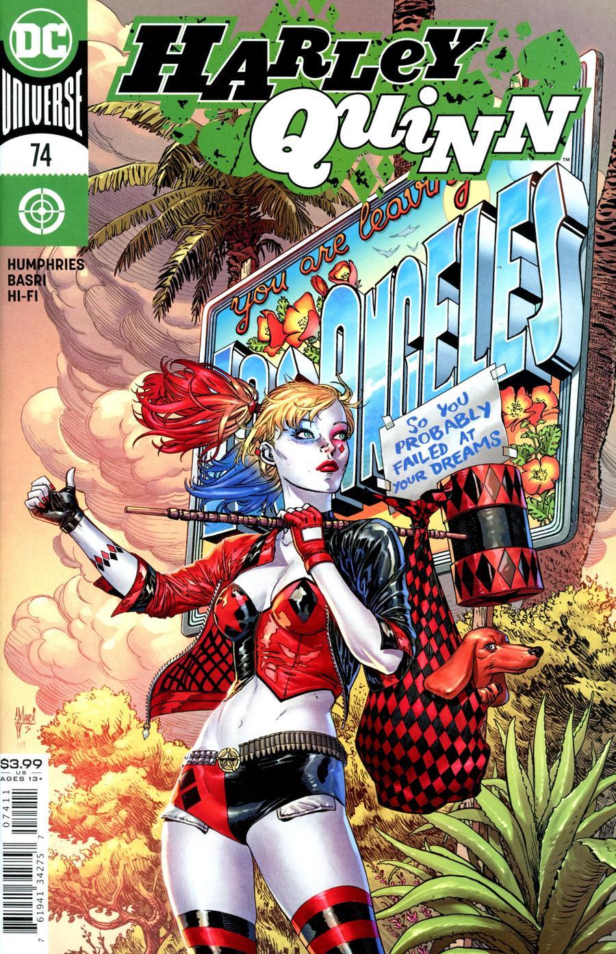 Harley Quinn Vol 3 #74 Cover A Regular Guillem March Cover