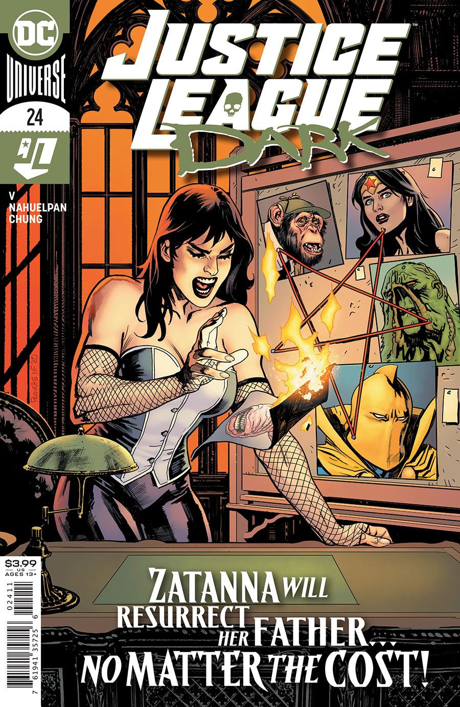Justice League Dark Vol 2 #24 Cover A Regular Yanick Paquette Cover