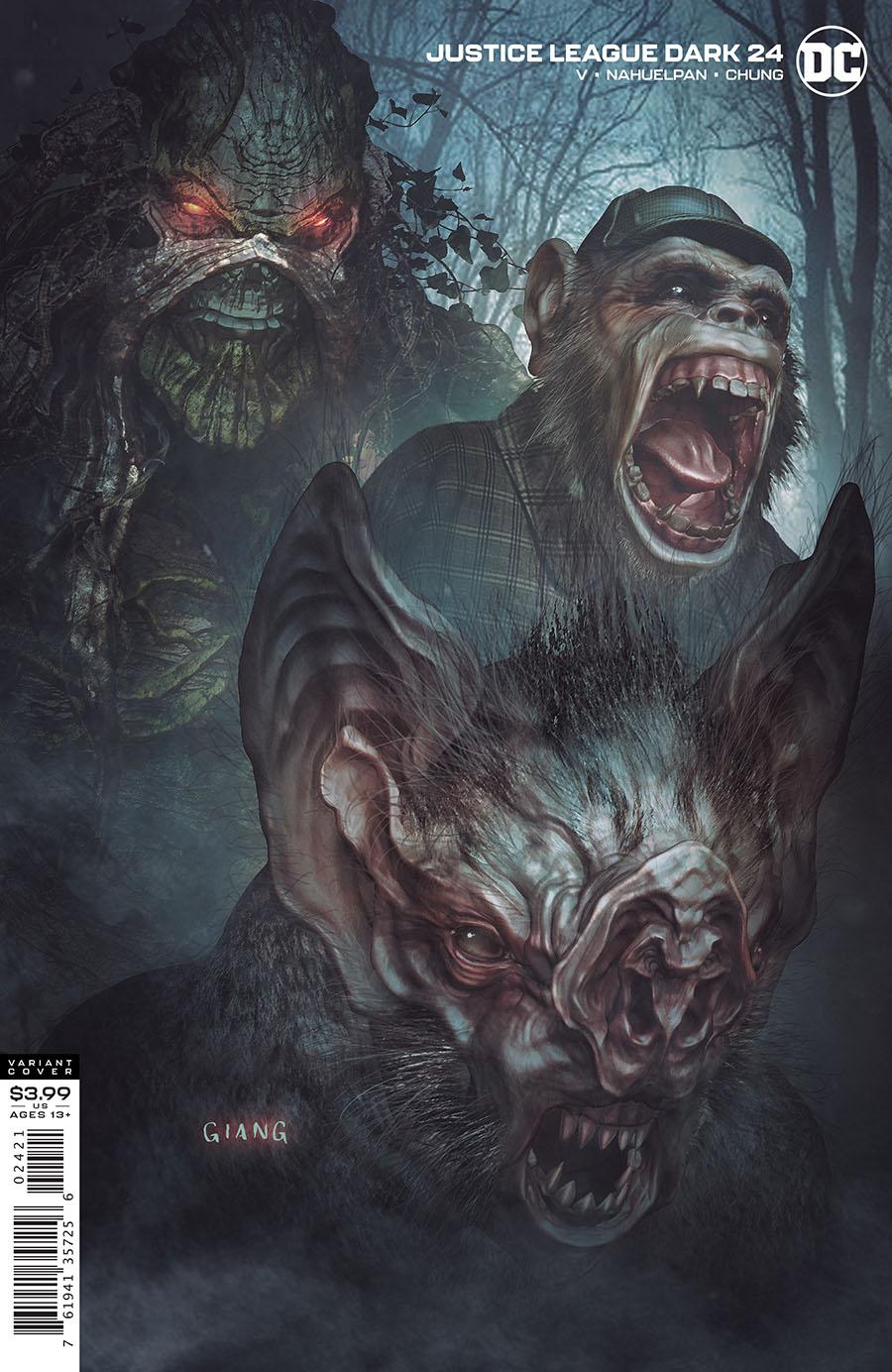 Justice League Dark Vol 2 #24 Cover B Variant John Giang Cover