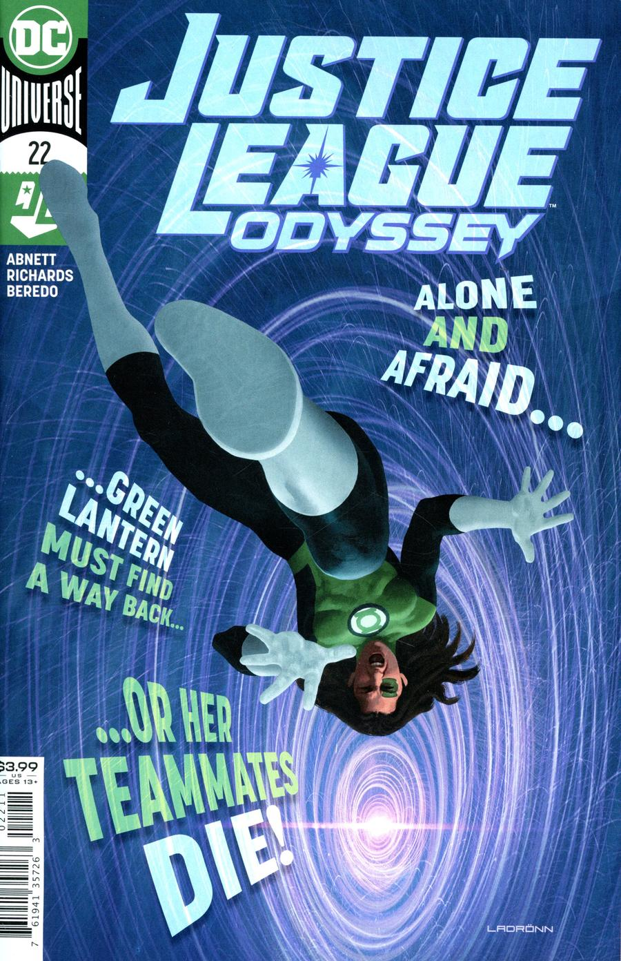 Justice League Odyssey #22 Cover A Regular Jose Ladronn Cover