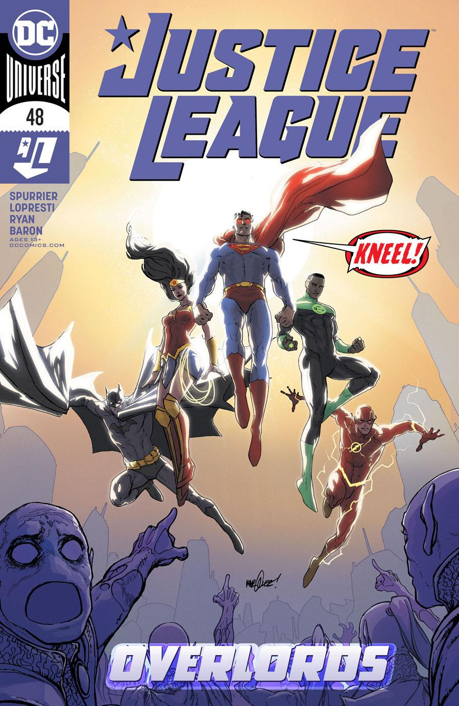 Justice League Vol 4 #48 Cover A Regular David Marquez Cover
