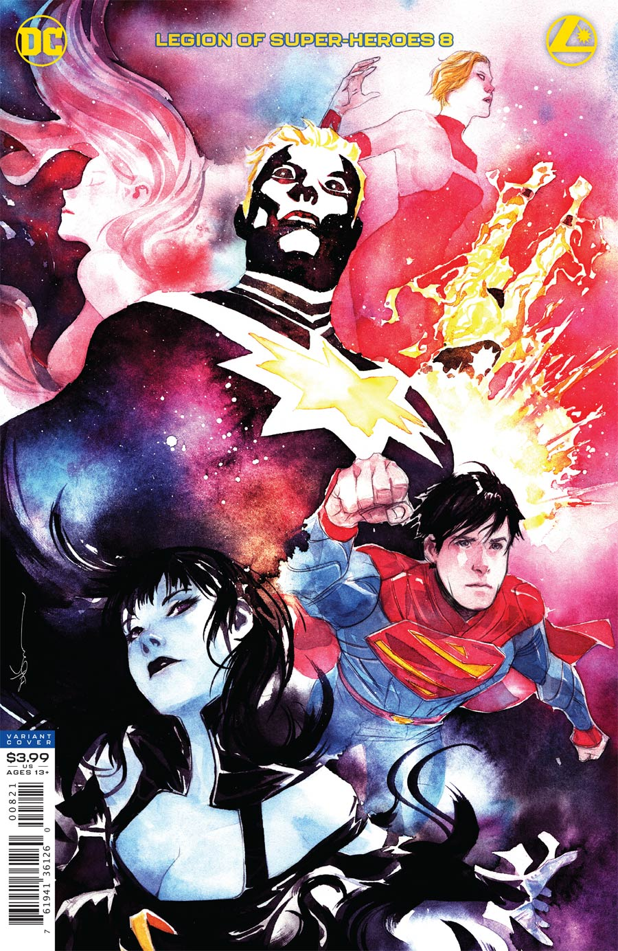Legion Of Super-Heroes Vol 8 #8 Cover B Variant Dustin Nguyen Cover