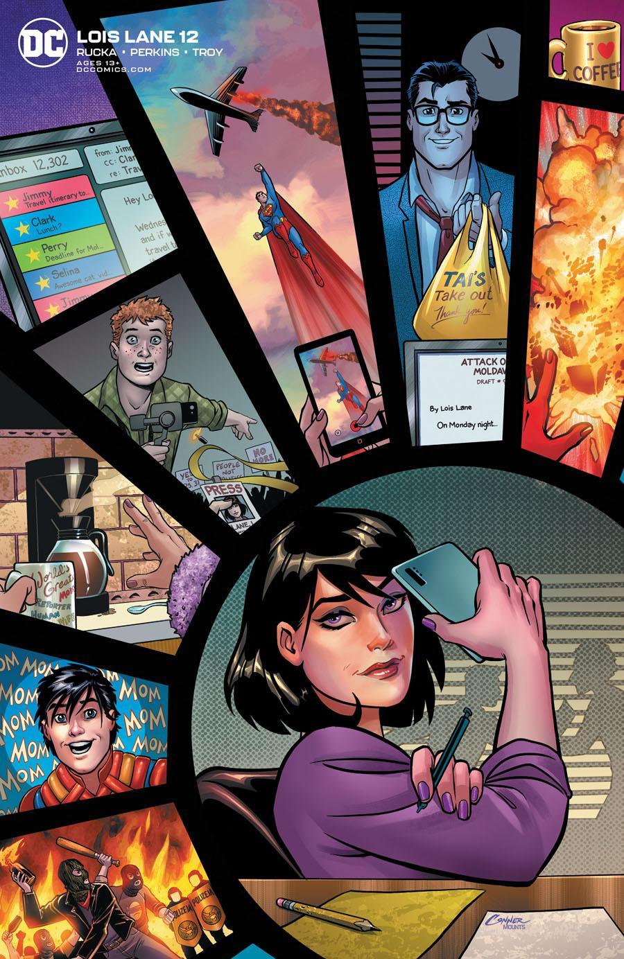 Lois Lane Vol 2 #12 Cover B Variant Amanda Conner Cover
