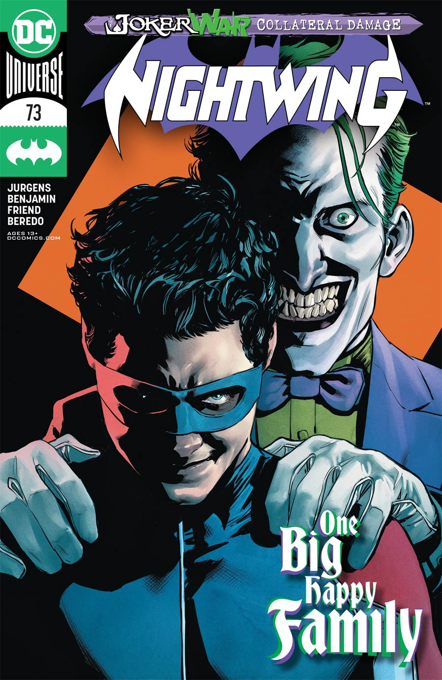 Nightwing Vol 4 #73 Cover A Regular Travis Moore Cover (Joker War Tie-In)