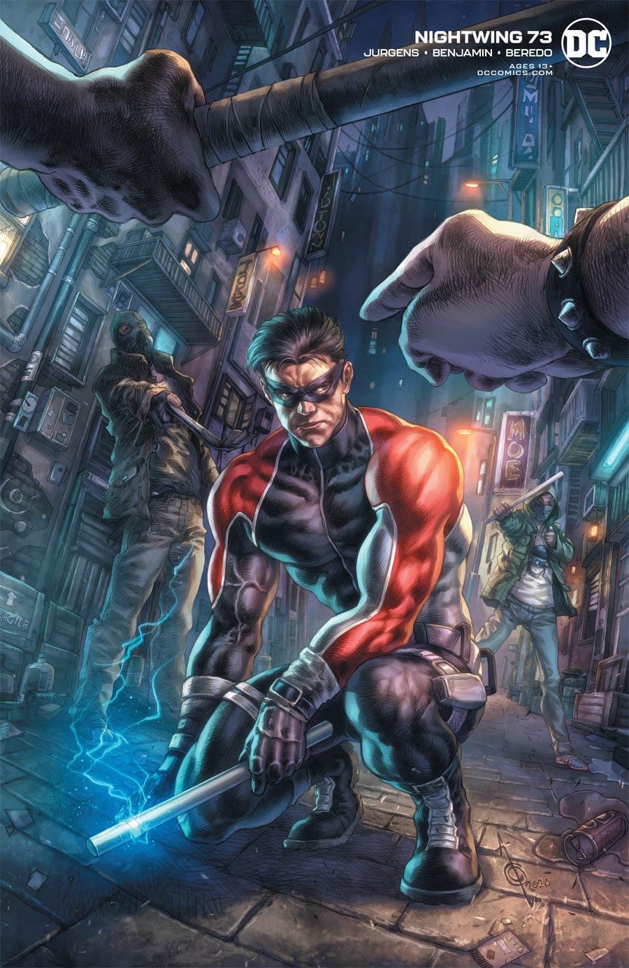 Nightwing Vol 4 #73 Cover B Variant Alan Quah Cover (Joker War Tie-In)