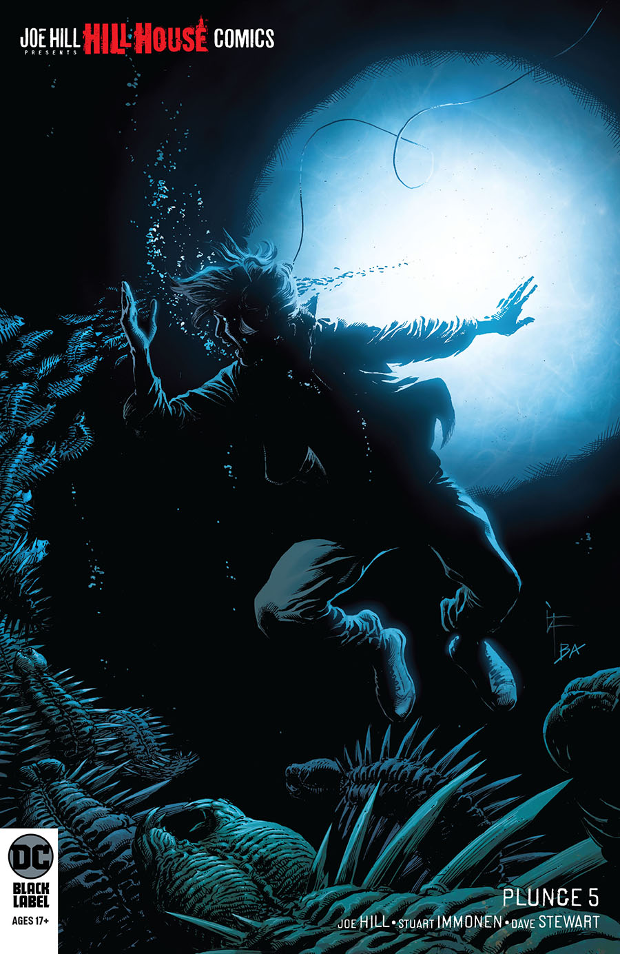 Plunge #5 Cover B Variant Gary Frank Cover