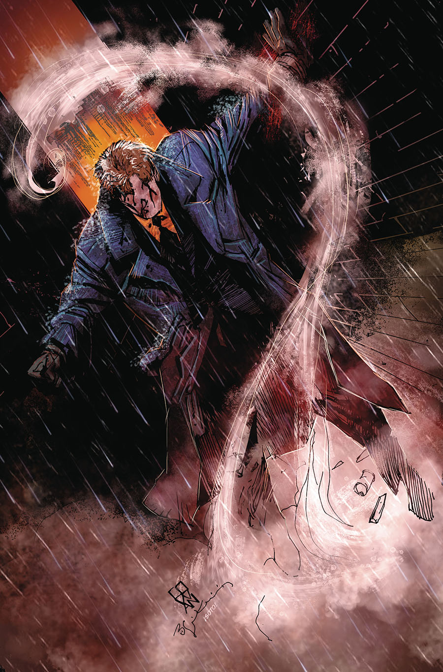 Question The Deaths Of Vic Sage #4 Cover A Regular Denys Cowan & Bill Sienkiewicz Cover
