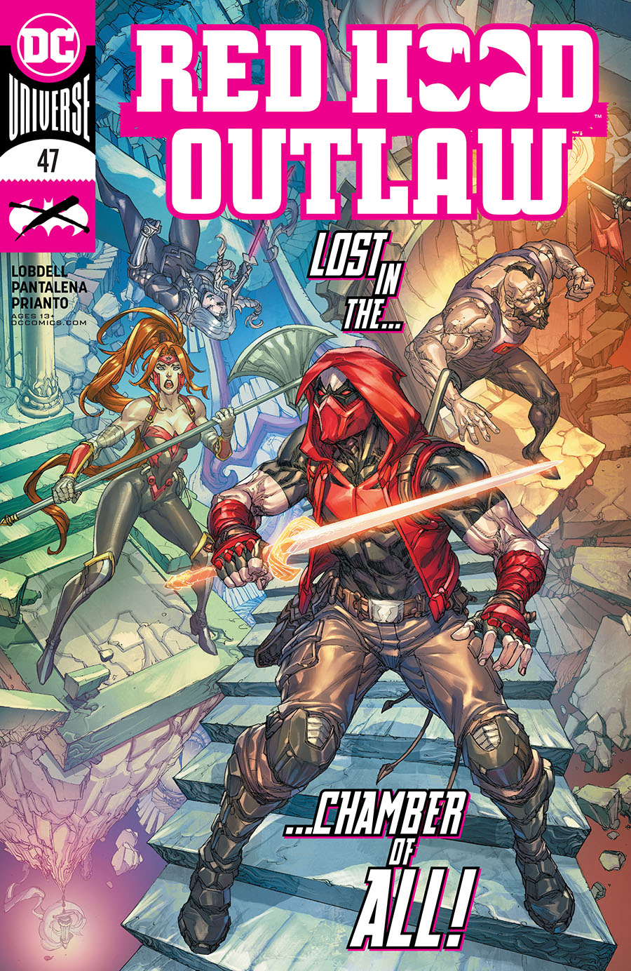 Red Hood Outlaw #47 Cover A Regular Paolo Pantalena Cover