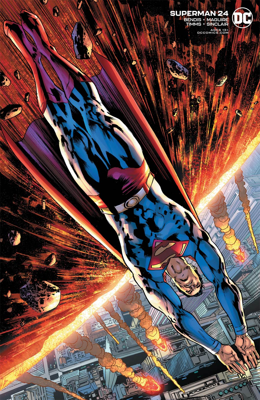 Superman Vol 6 #24 Cover B Variant Bryan Hitch Cover
