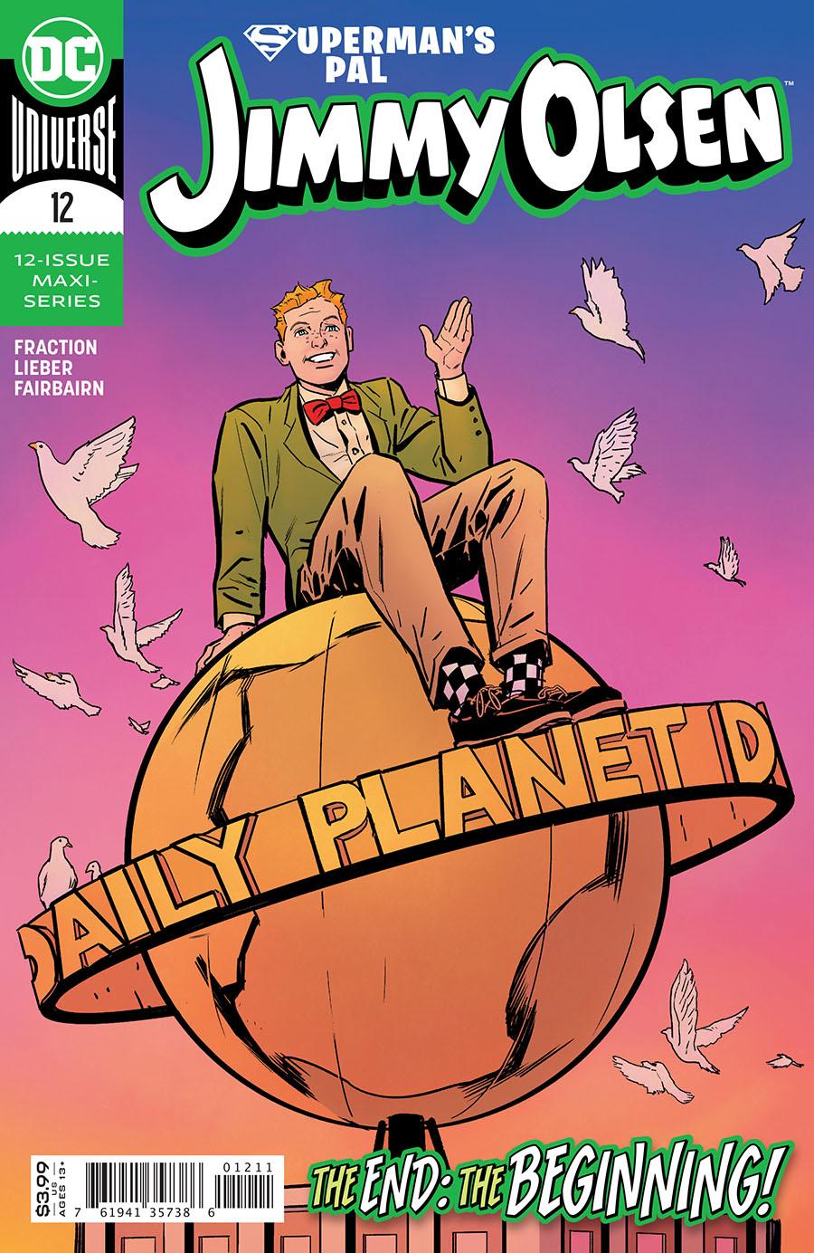 Supermans Pal Jimmy Olsen Vol 2 #12 Cover A Regular Steve Lieber Cover