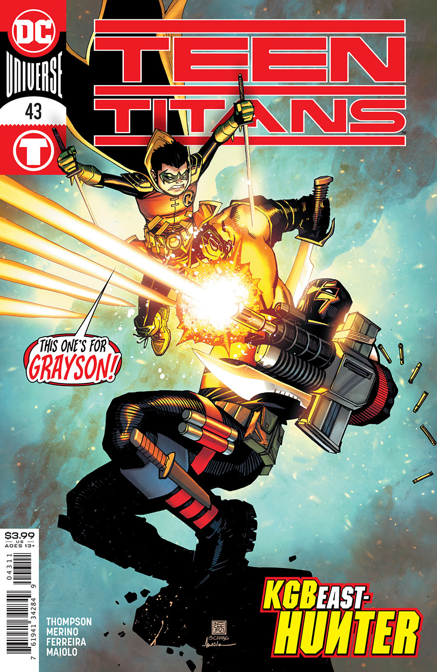 Teen Titans Vol 6 #43 Cover A Regular Bernard Chang Cover