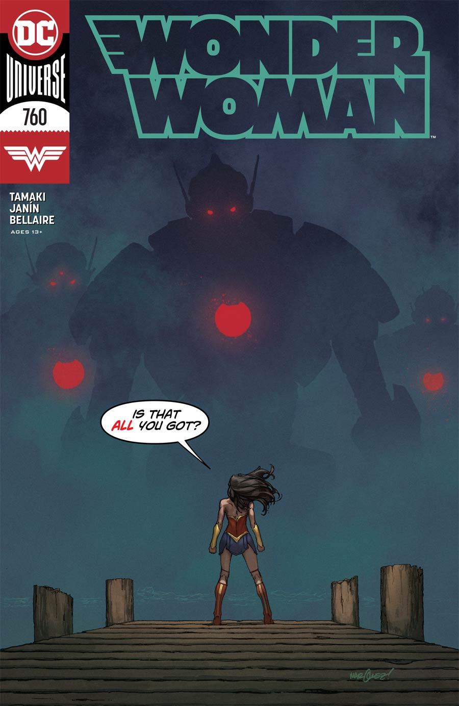 Wonder Woman Vol 5 #760 Cover A Regular David Marquez Cover