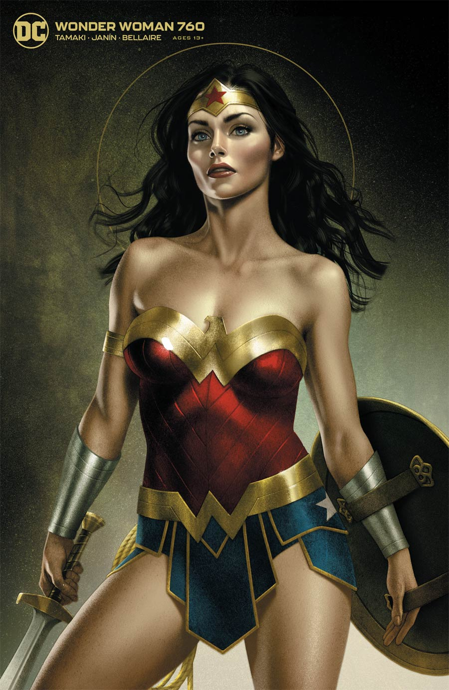 Wonder Woman Vol 5 #760 Cover B Variant Joshua Middleton Card Stock Cover