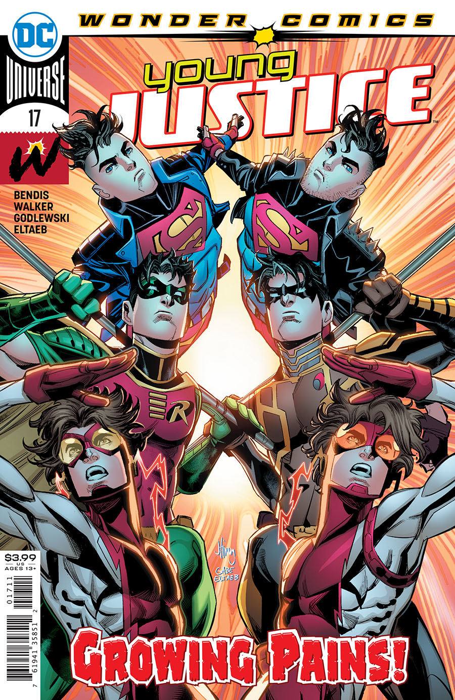 Young Justice Vol 3 #17 Cover A Regular John Timms Cover
