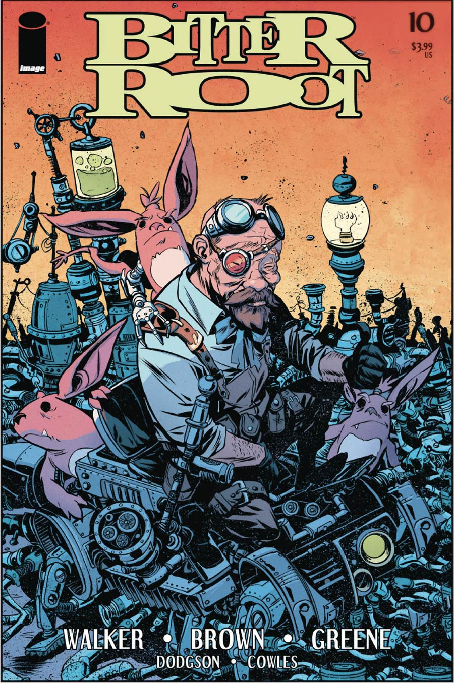 Bitter Root #10 Cover A Regular Sanford Greene Cover