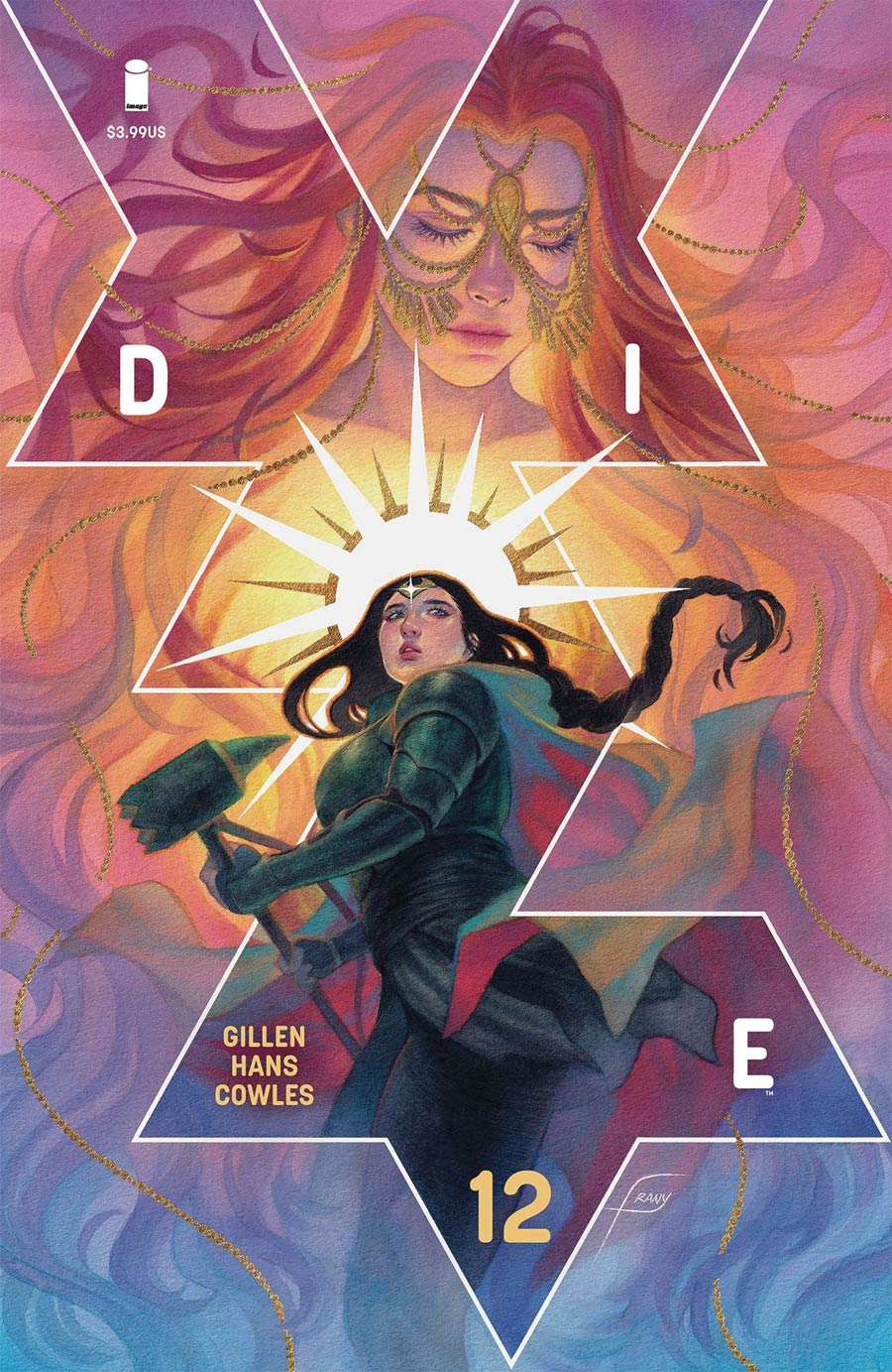 Die #12 Cover B Variant Justine Frany Cover