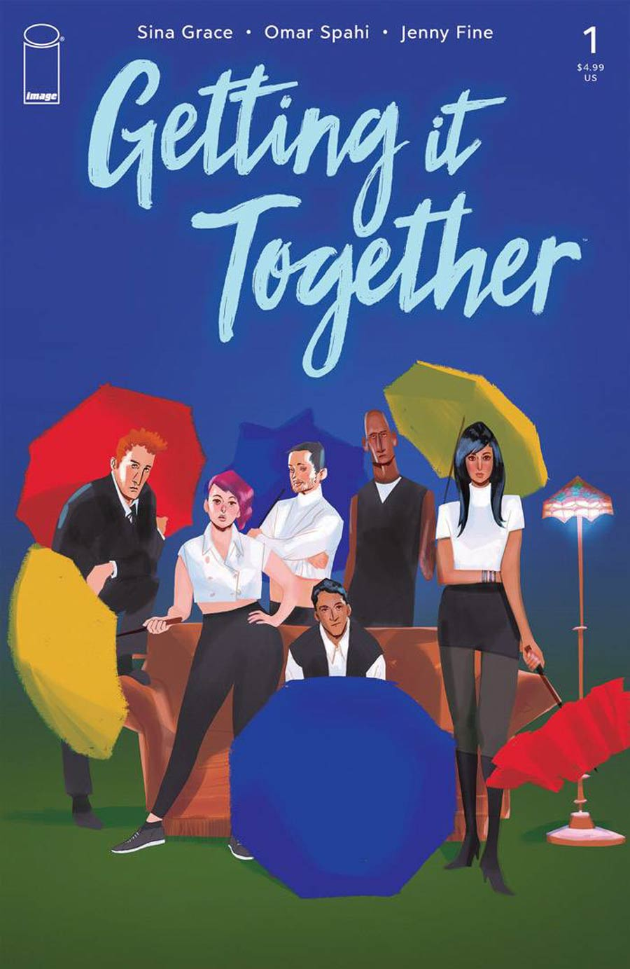 Getting It Together #1 Cover A Regular Jenny Fine Cover