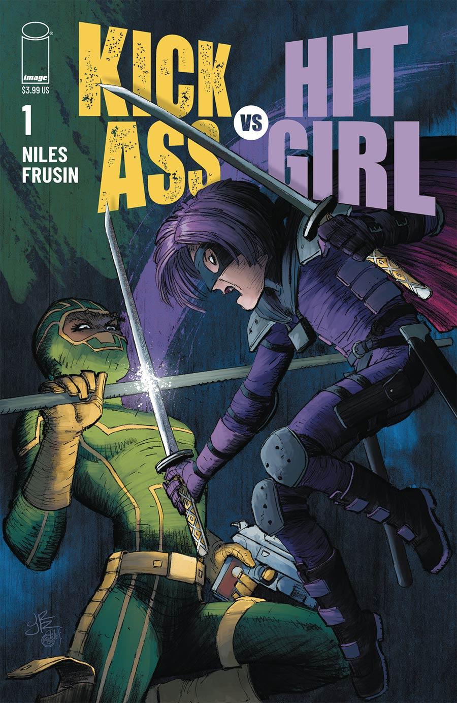 Kick-Ass vs Hit-Girl #1 Cover A Regular John Romita Jr Color Cover